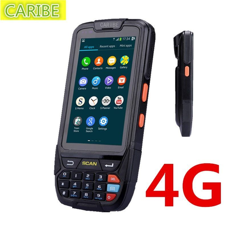 Android Handheld Data Collector With 1D Barcode Reader