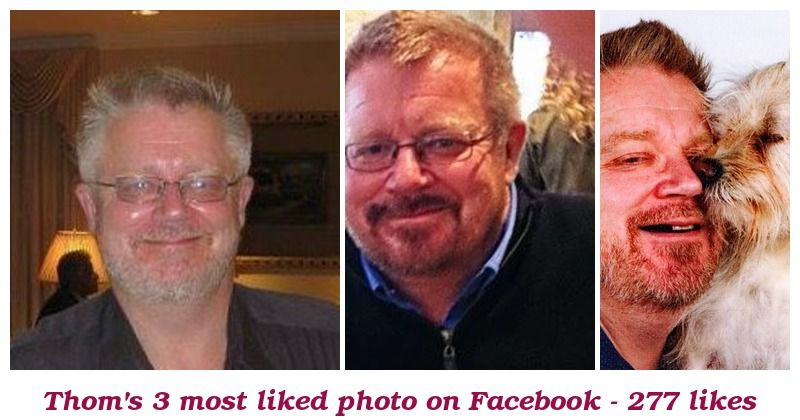 These are your 3 most liked pictures. Surprised?