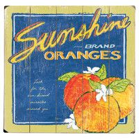 Sunshine Oranges Wall Decor , jossandmain.com