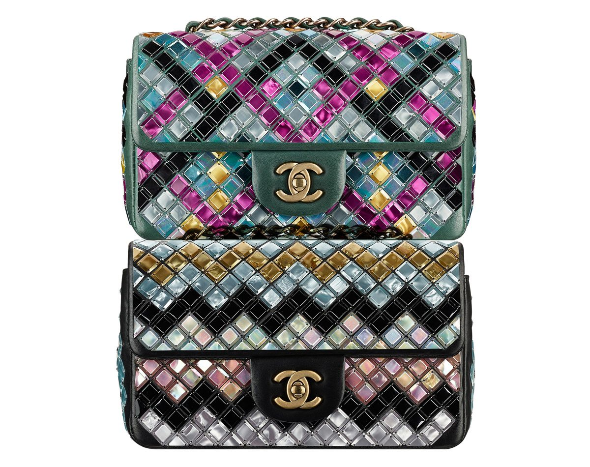 9fea538390f Chanel F W15 Embroidered Mosaic Bag Collection · BAGAHOLICBOY .