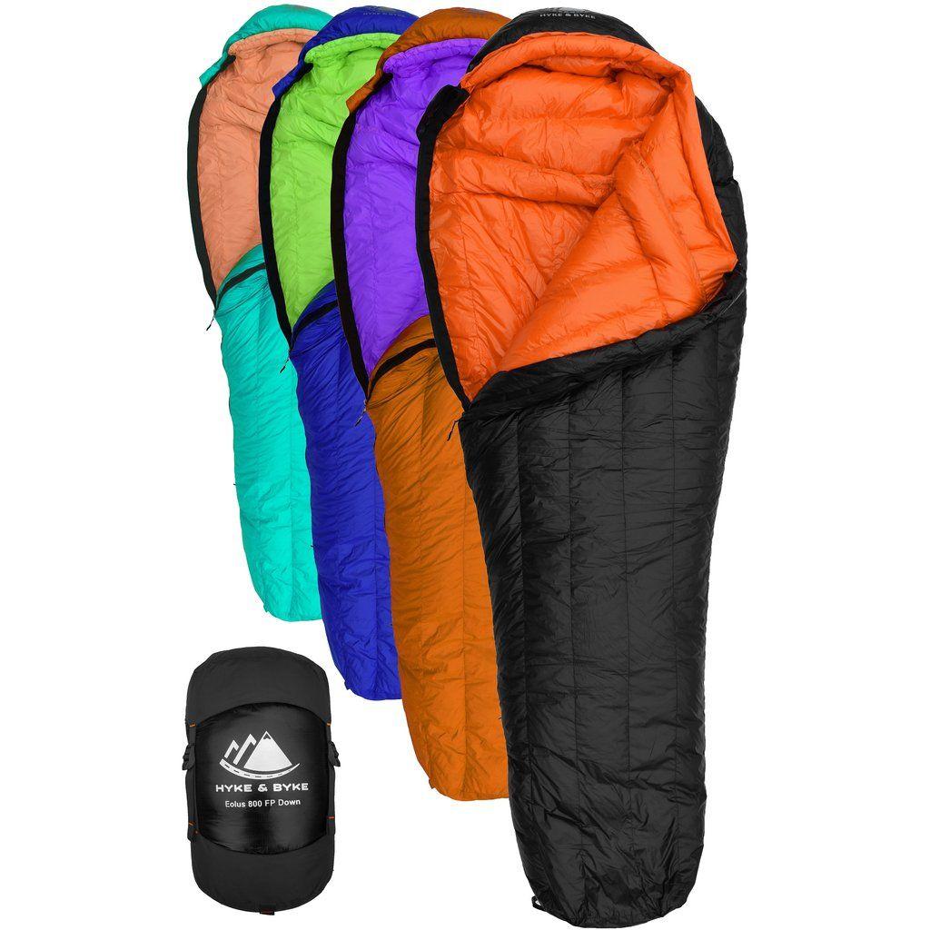 Eolus 0 F Ultralight 800fp Goose Down Sleeping Bag Down Sleeping