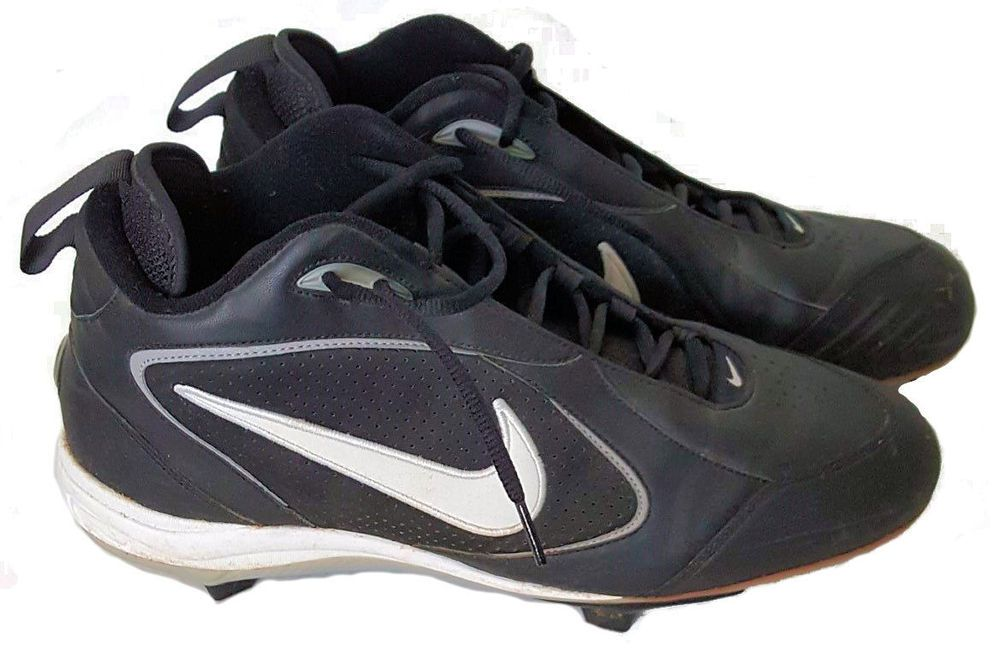 fea1c200d52 Nike Air 3 4 Baseball Cleats. Plastic cleats are interchangeable with  metal. Slight wear on plastic cleats. Men s Size 12 US