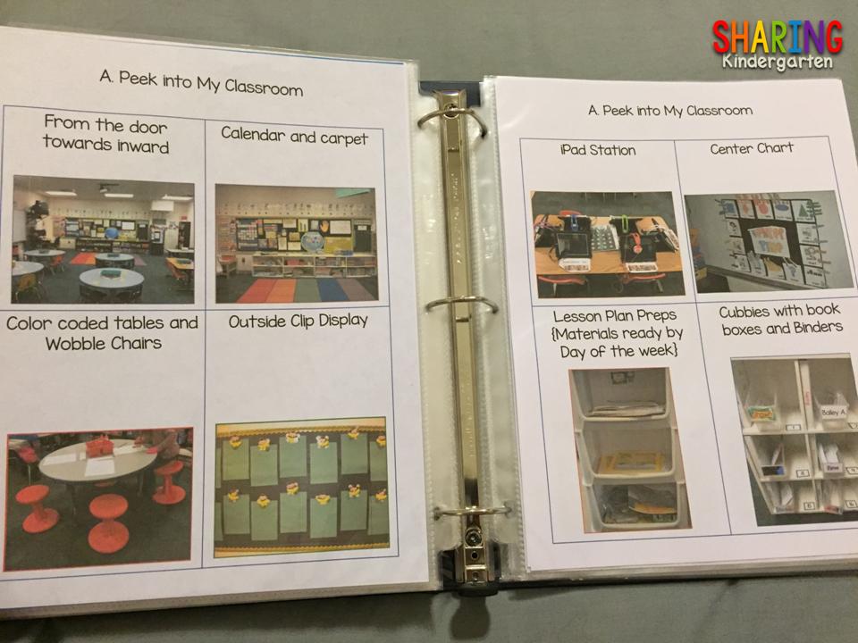 How to make a portfolio of a kindergarten teacher