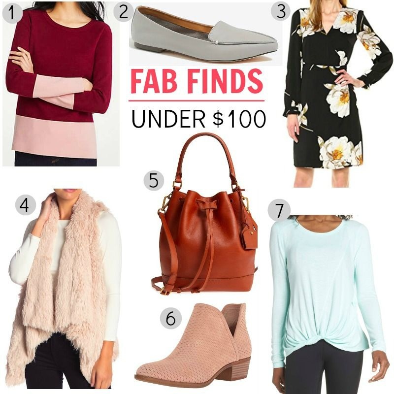 Fab Finds Under 50: The 100, Color Block Sweater