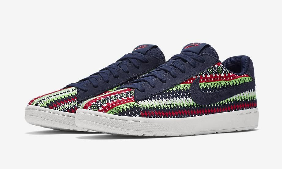 Nike Tennis Classic Ultra QS Color Dark Obsidian Metallic Gold-University  Red Style Code 807175-400 Release Date December 19 292f18e26d