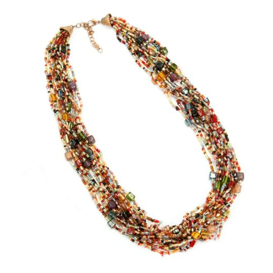 Colorful and bold, this necklace will inject spice and liveliness into your life.