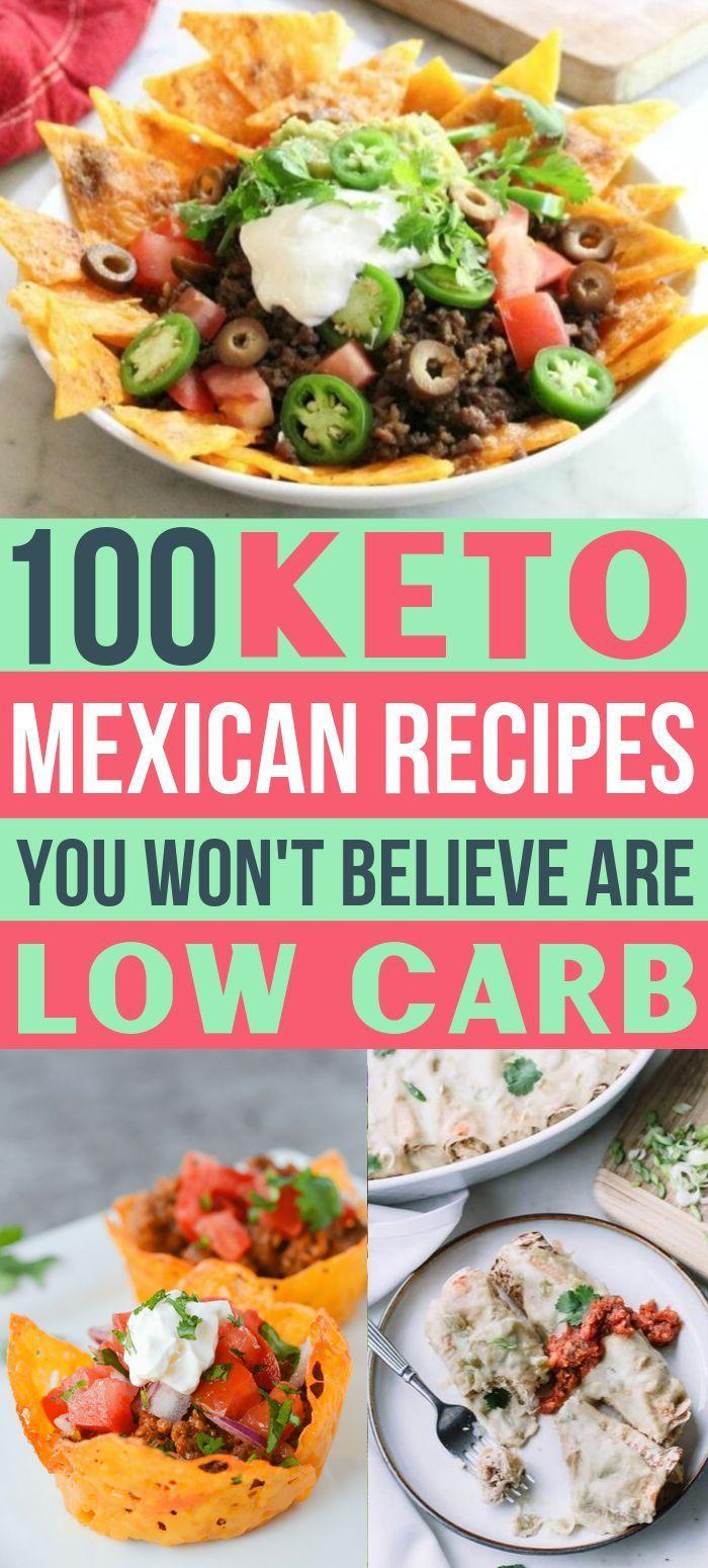 Keto Mexikanisches Essen: 100+ einfache kohlenhydratarme mexikanische Rezepte - versierter Ho... Ke