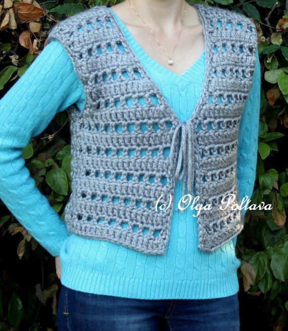 Mandala bohemian crochet vest, gypsy vest, sweaters & tops, free.