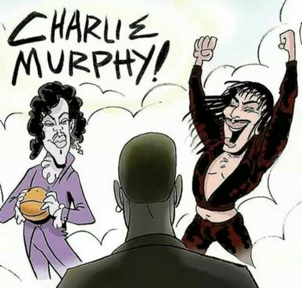 Rest In Paradise Charlie Murphy, Prince & Rick James.