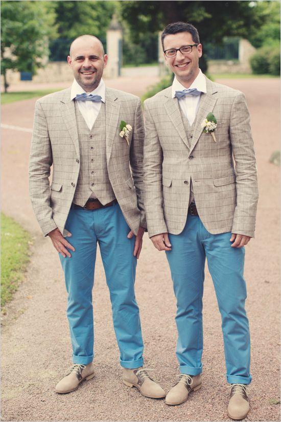 Vintage Chic French Wedding Summer Wedding Style Groomsmen Attire Fall Wedding Style