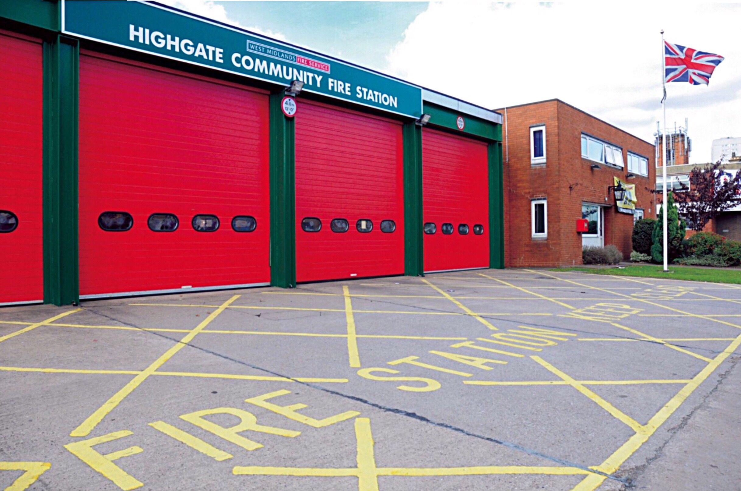 Moseley Road, Highgate, Birmingham, UK. Highgate Community