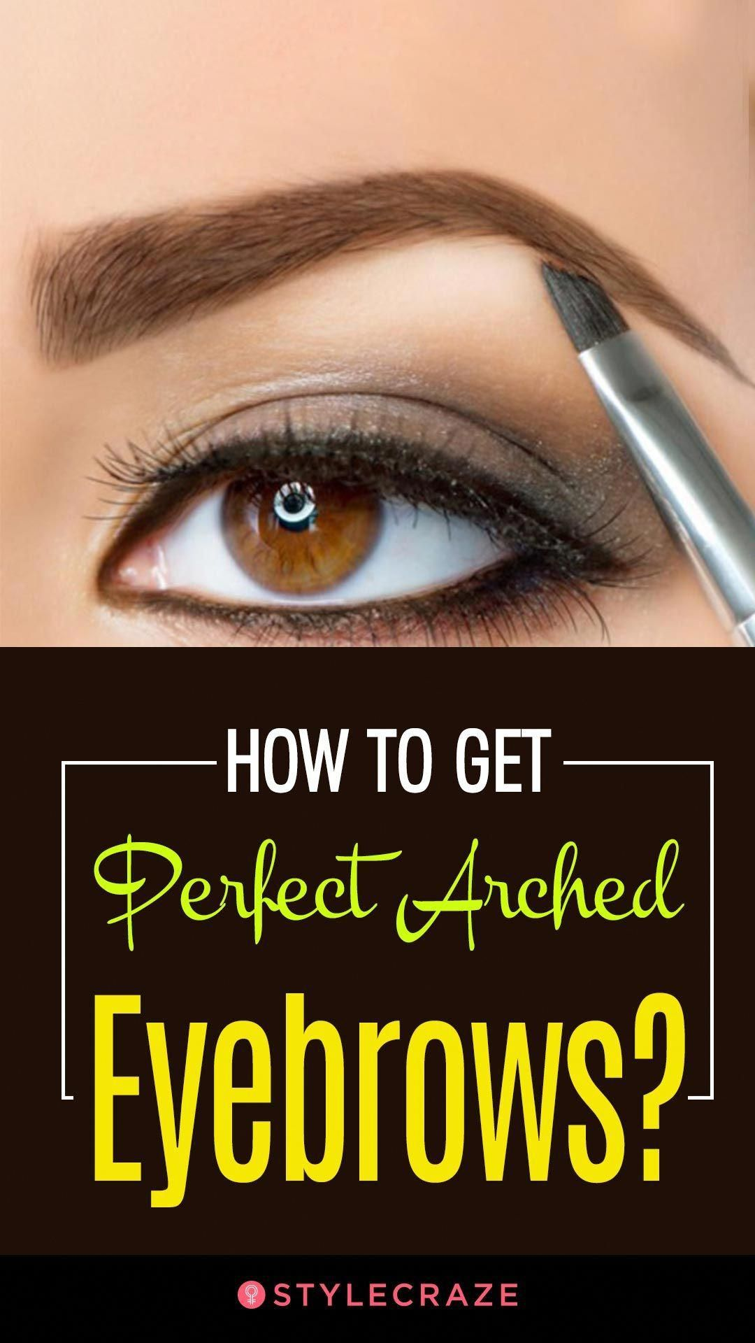 How To Arch Eyebrows Perfectly - Step by Step Tutorial # ...