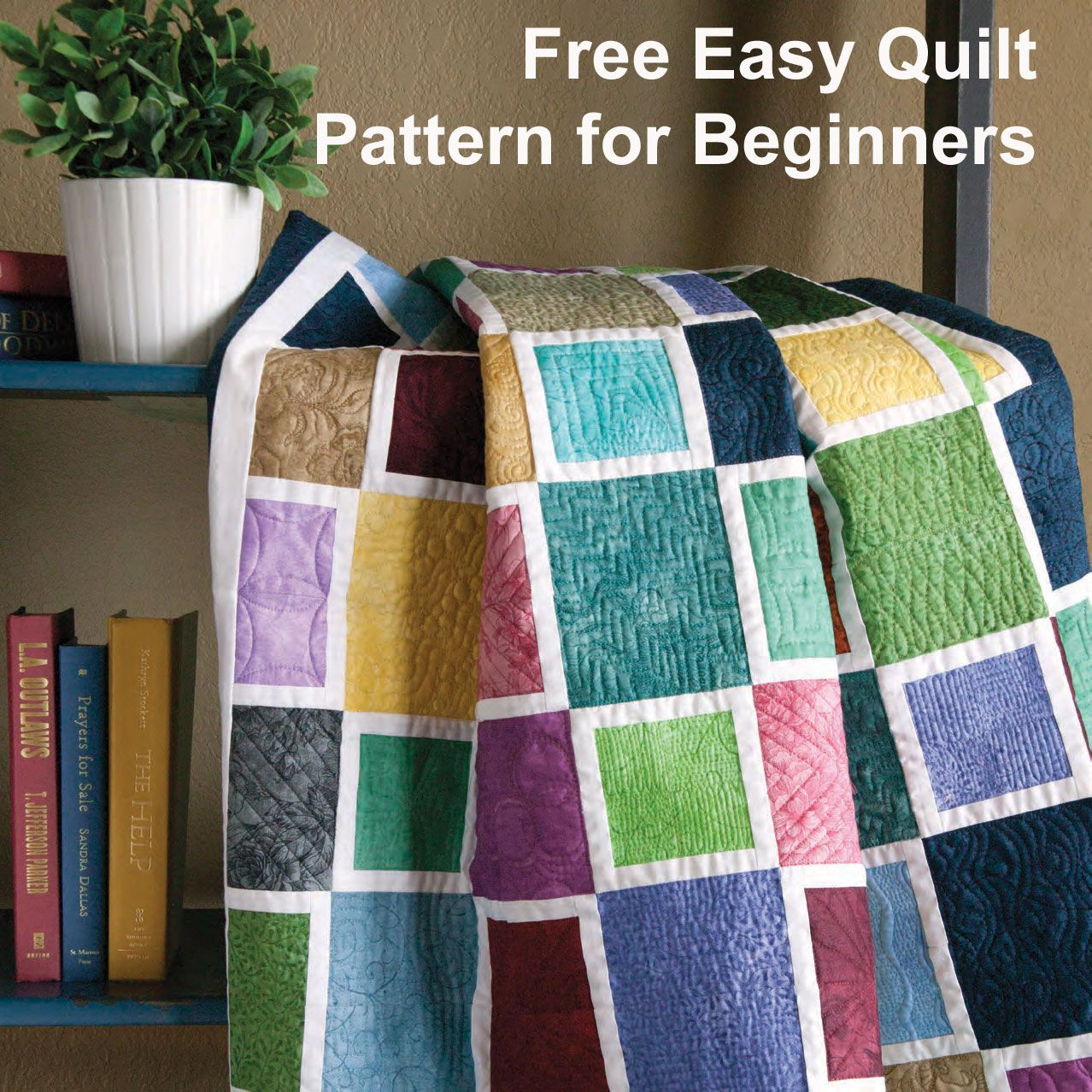 Free Patterns for Beginning Quilting: Mediterranean Mosaic by ... : easy quilts for beginners free patterns - Adamdwight.com