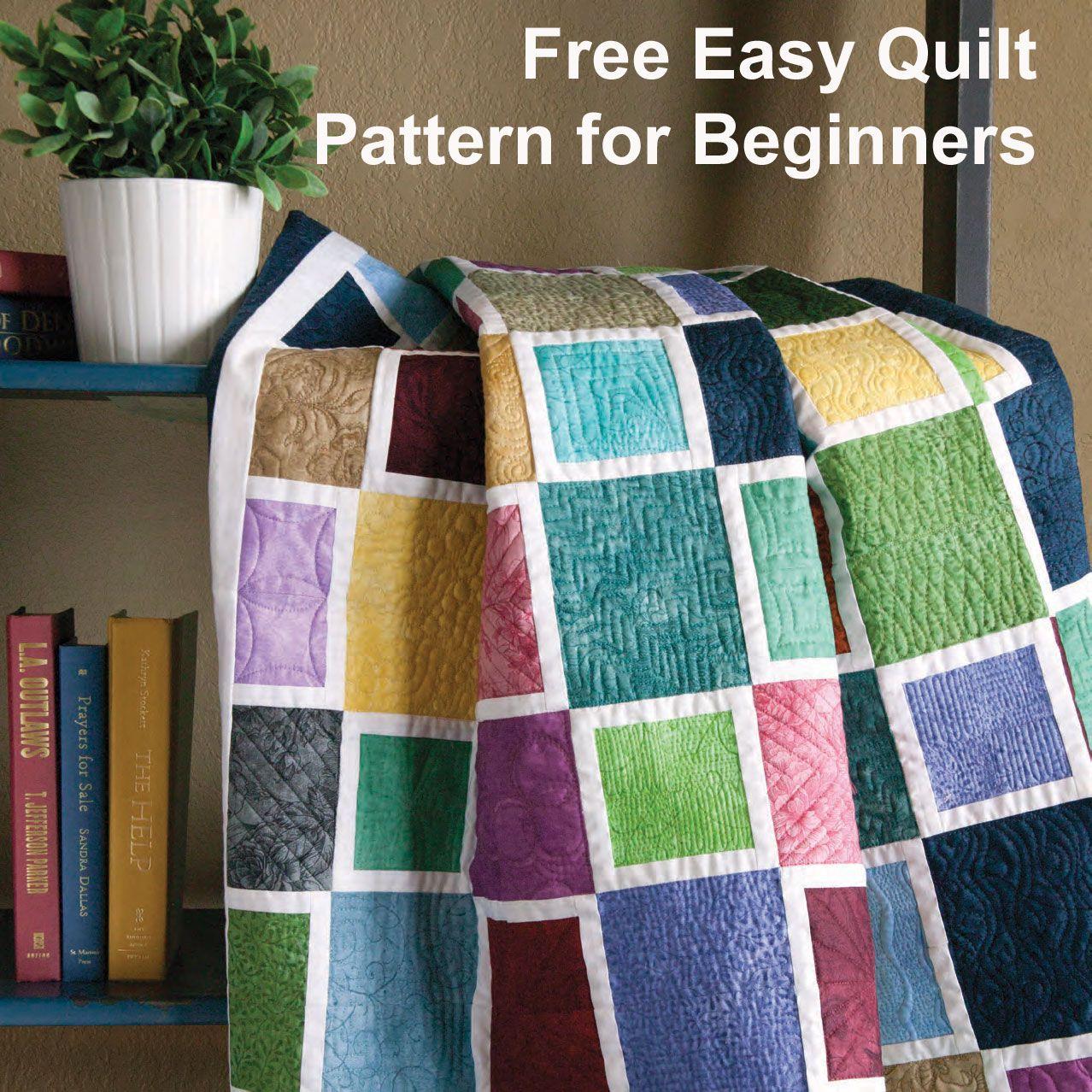 Free Patterns for Beginning Quilting: Mediterranean Mosaic by ... : quilting for beginners free patterns - Adamdwight.com