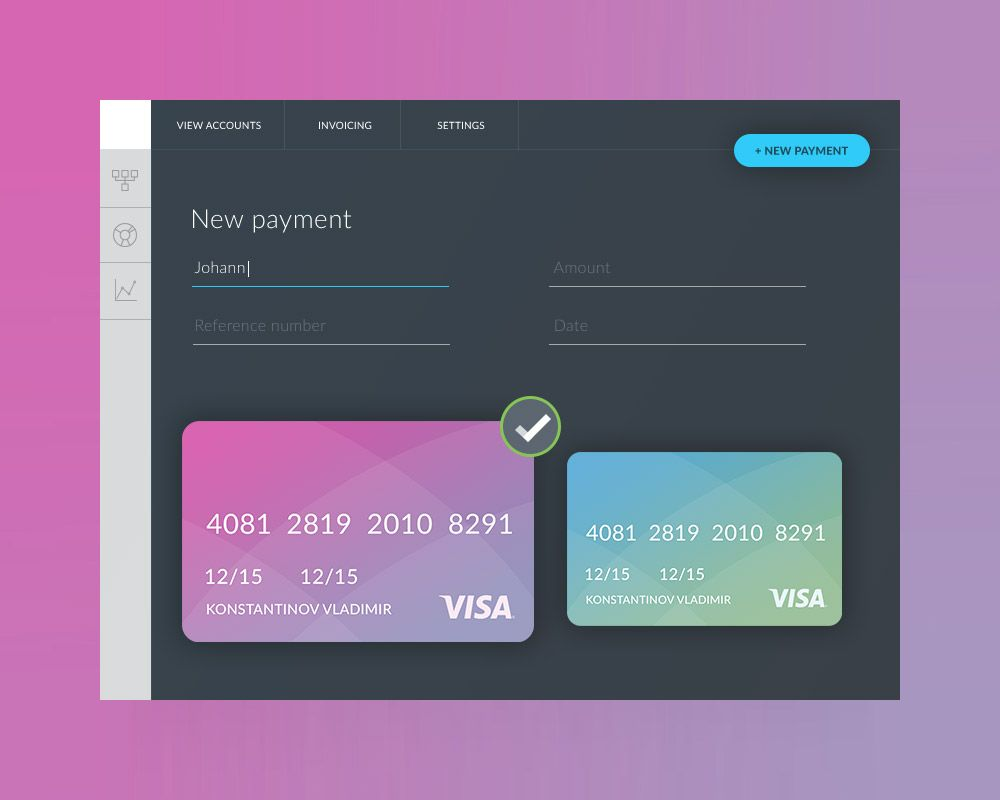 Nice Payment Form Ui Template Free Psd Download Payment Form Ui