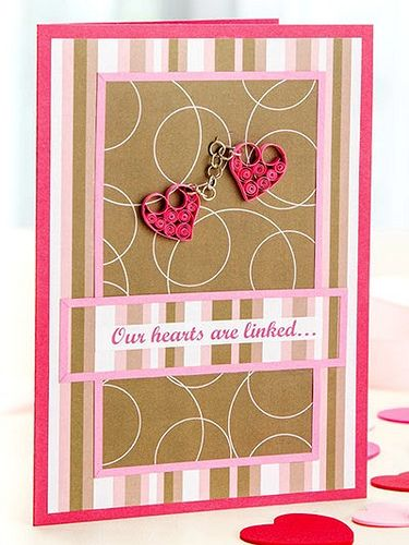 Quilled Valentine Pinterest Heart Cards Quilling And Cards