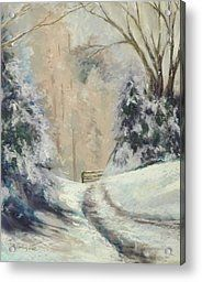 Art Painting Snow Scenes