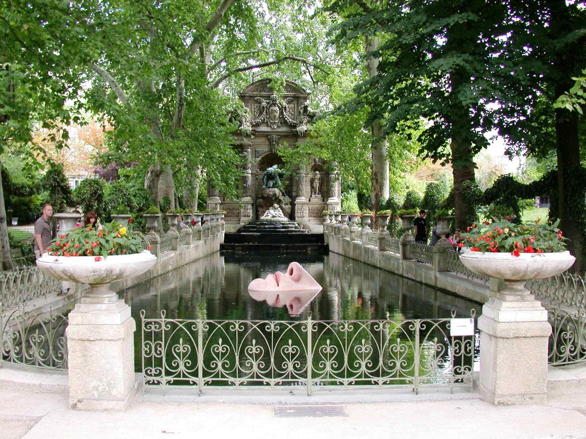 jardin du luxembourg fontaine Recherche Google