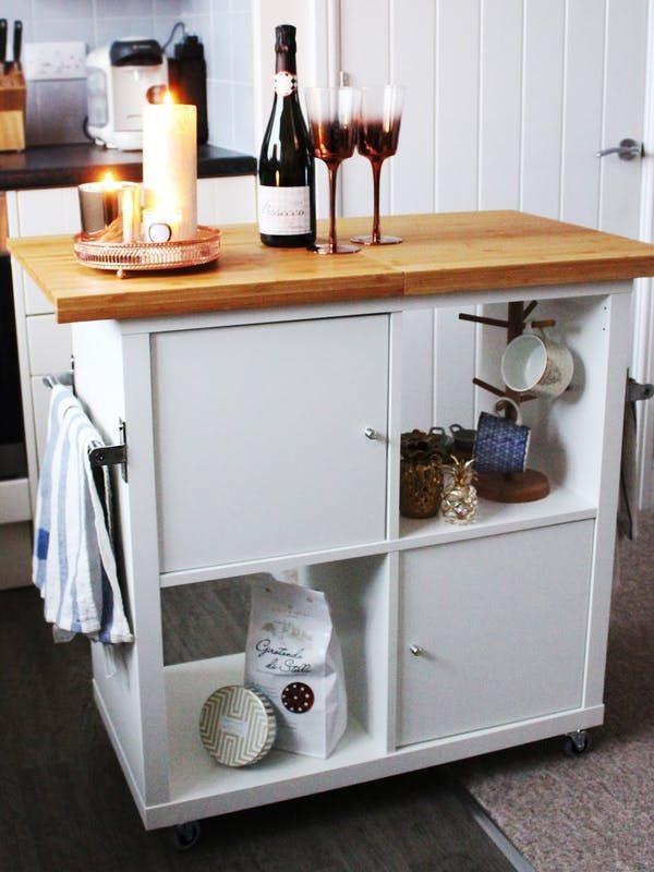 Make It: Kitchen Islands Created with IKEA Products | Ikea hack ...