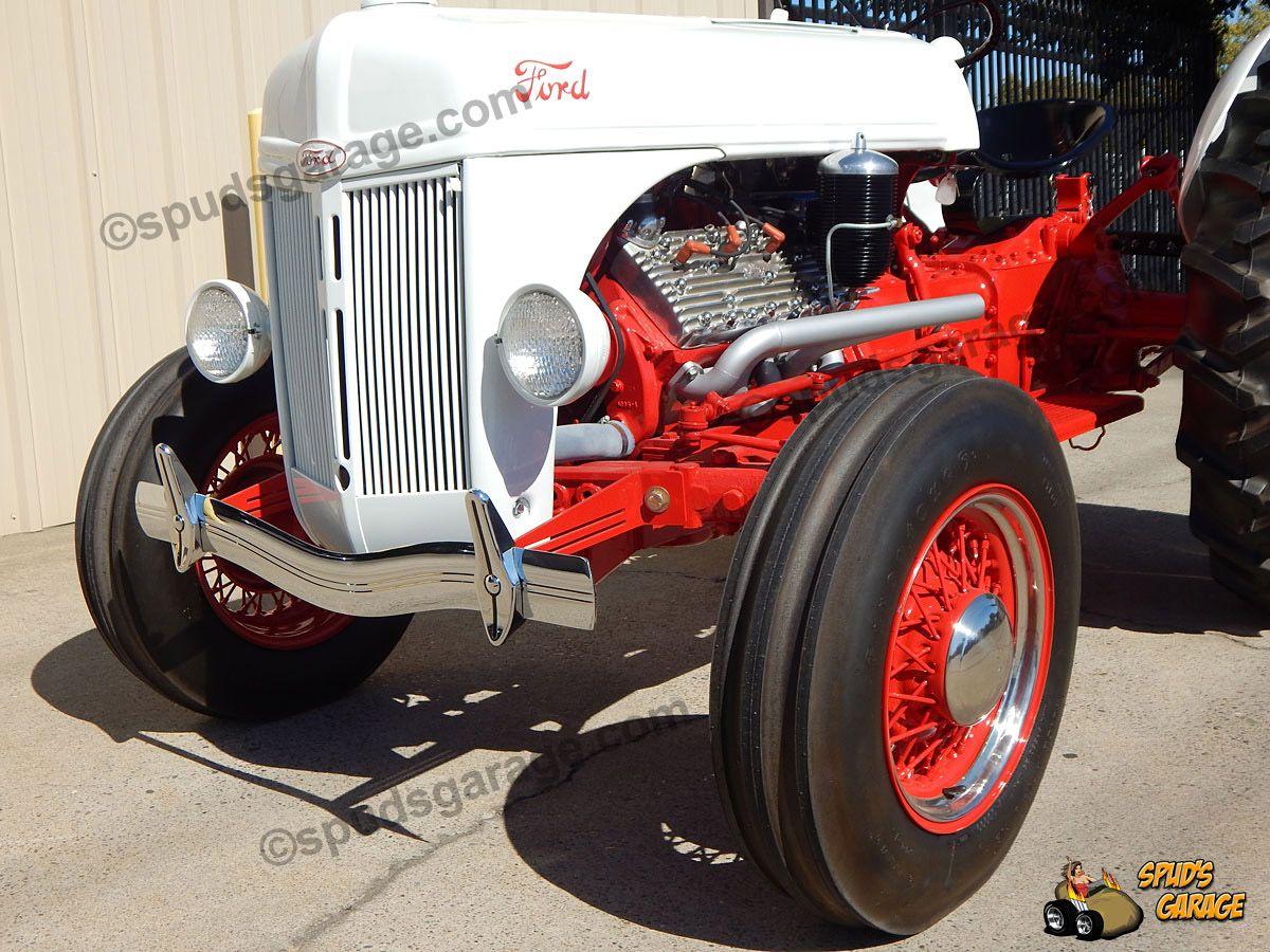 Spuds Garage 1952 Ford 8n Tractor V8 Conversion For Sale