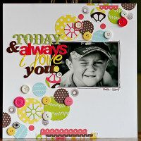A Project by meganklauer from our Scrapbooking Gallery originally submitted 06/04/09 at 08:24 AM