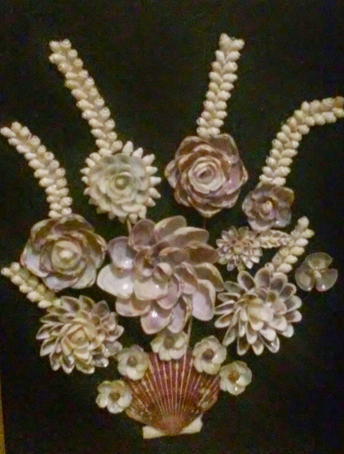 Decoraci n con conchas de mar cuadros decorados con - Decoracion con conchas ...