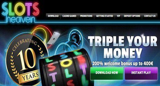 Slots Heaven Mad March Casino Promo