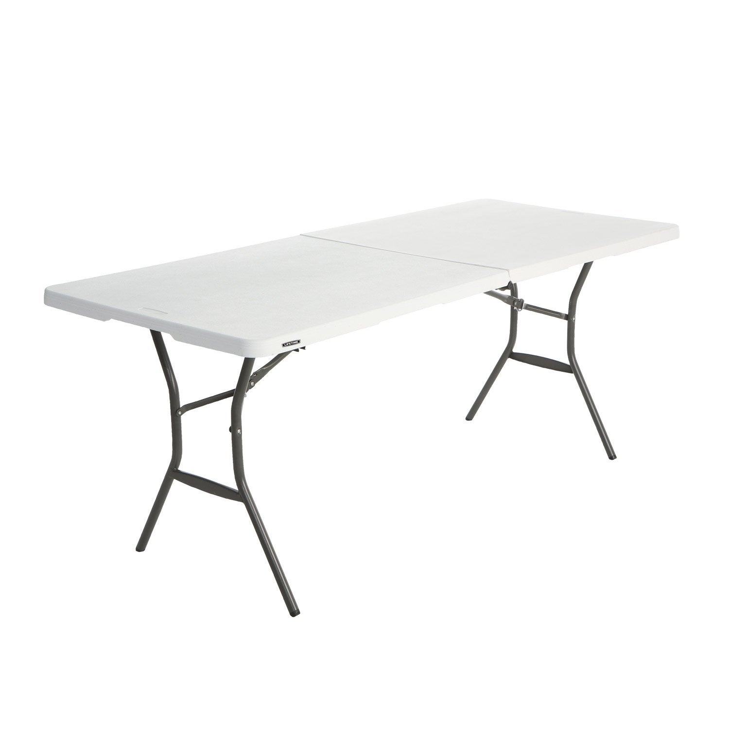 Table De Jardin De Repas Lifetime Rectangulaire Blanc 6 Personnes No Name Table De Jardin Table Pliante Et Table