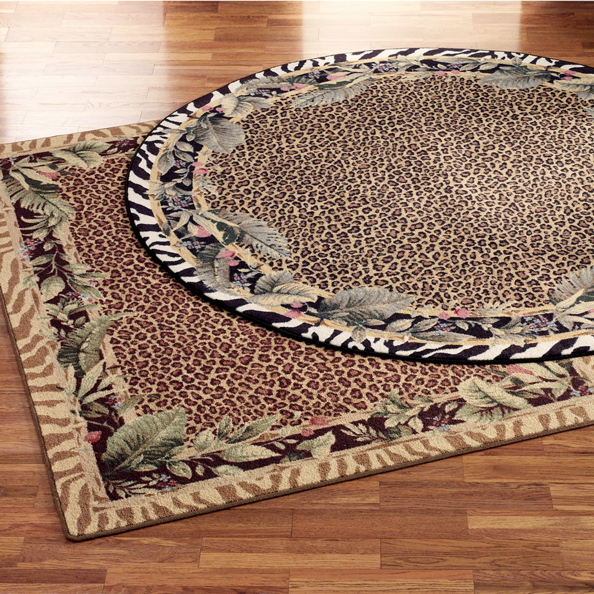 Jungle Safari Animal Print Area Rugs Rugs Safari Home Decor