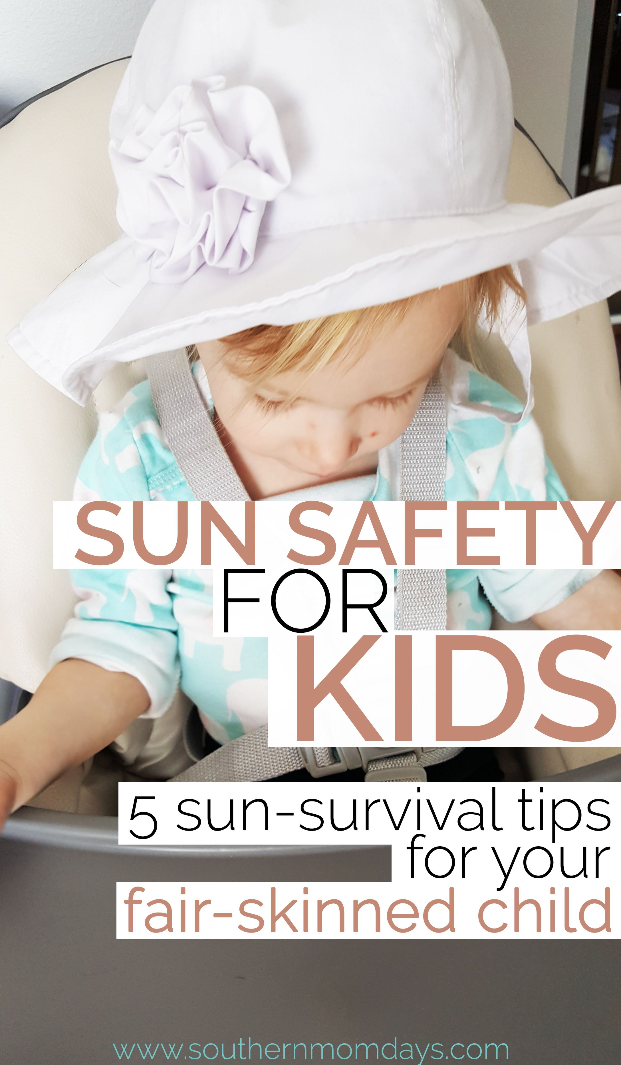 Sun Safety For Kids 5 Tips For Your Fair Skinned Child
