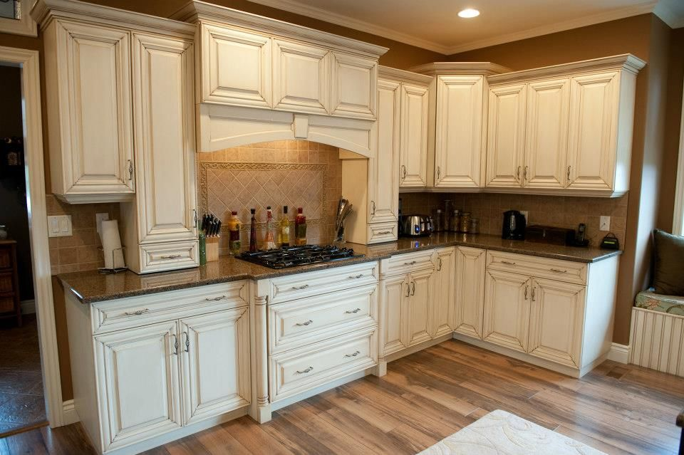 Antique Glazed Cabinets For The Home Kitchen Cabinets