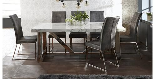 Satellite Rectangular Table Set Of 4 Chairs Satellite Dfs