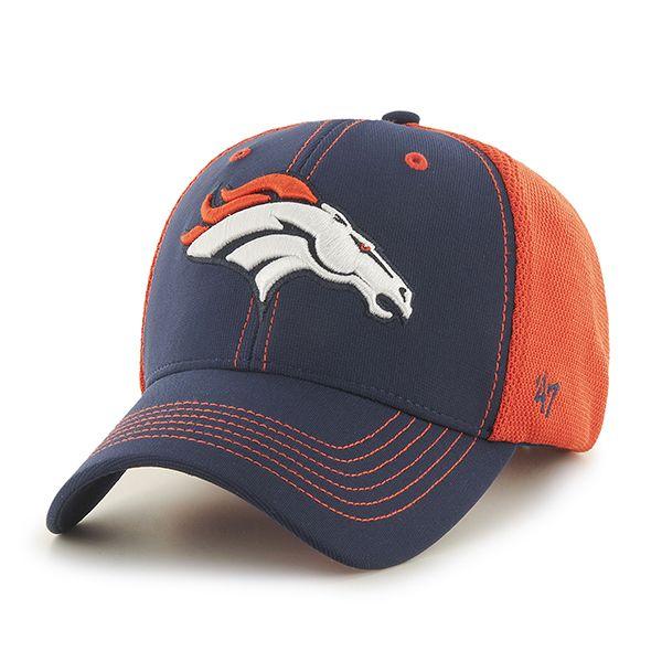 the best attitude f58c0 3dc68 Denver Broncos Cooler MVP Light Navy 47 Brand Adjustable Hat