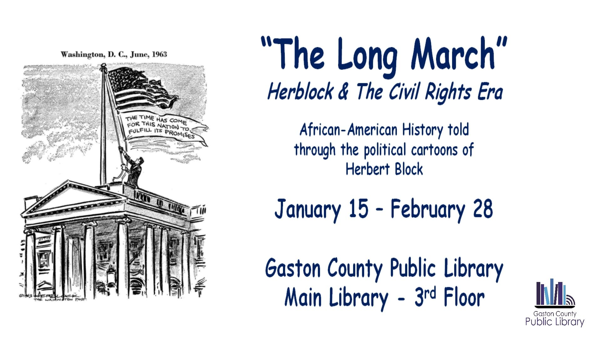 The Long March Herblock Amp The Civil Rights Era