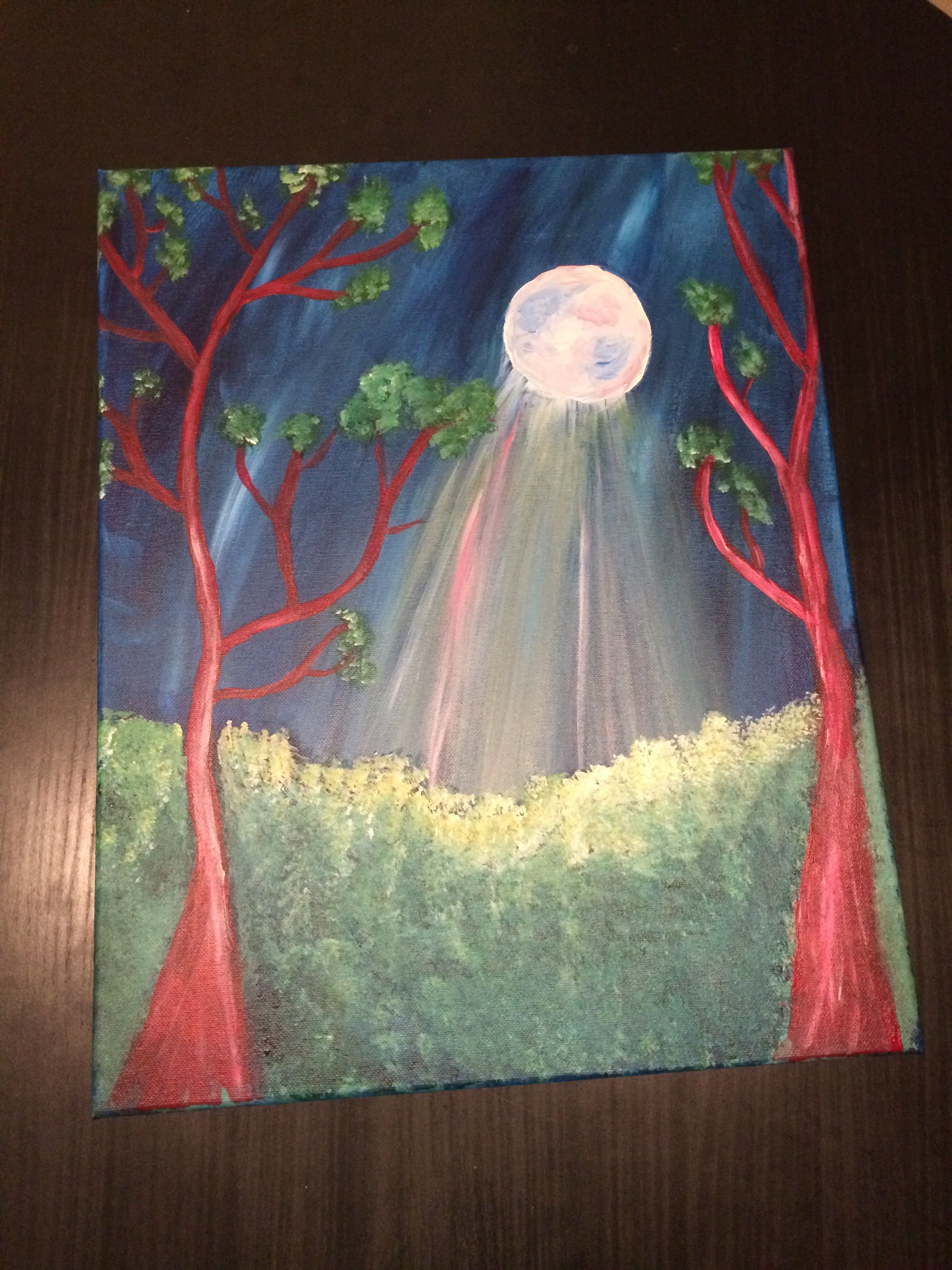 Painting with a Twist A Midsummer Night's Dream Painting