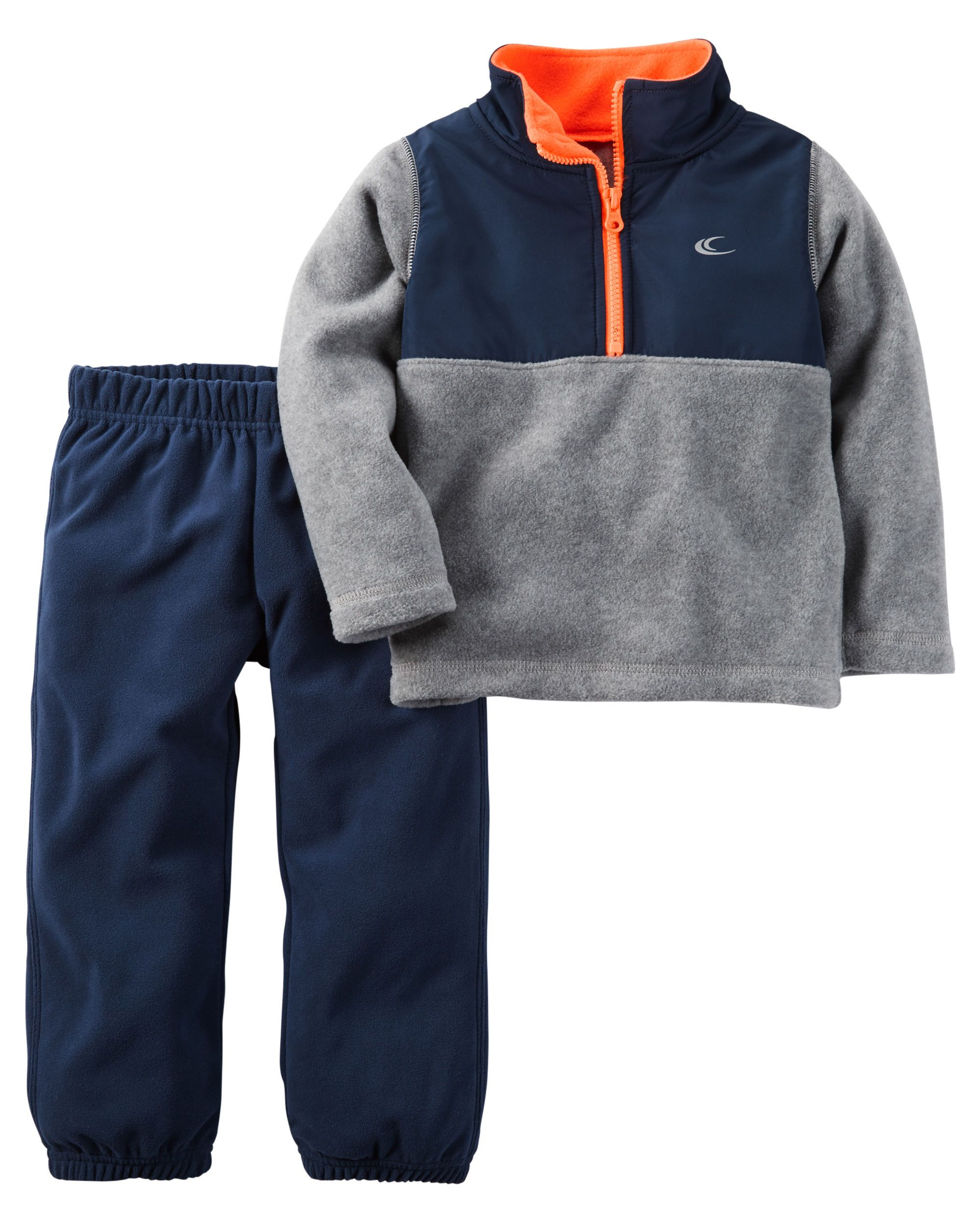 2-Piece Half-Zip Fleece Pullover & Pant Set | Babies clothes ...