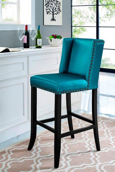 Superb Denver Blue Bar Stool Furniture Bar Stools Counter Lamtechconsult Wood Chair Design Ideas Lamtechconsultcom