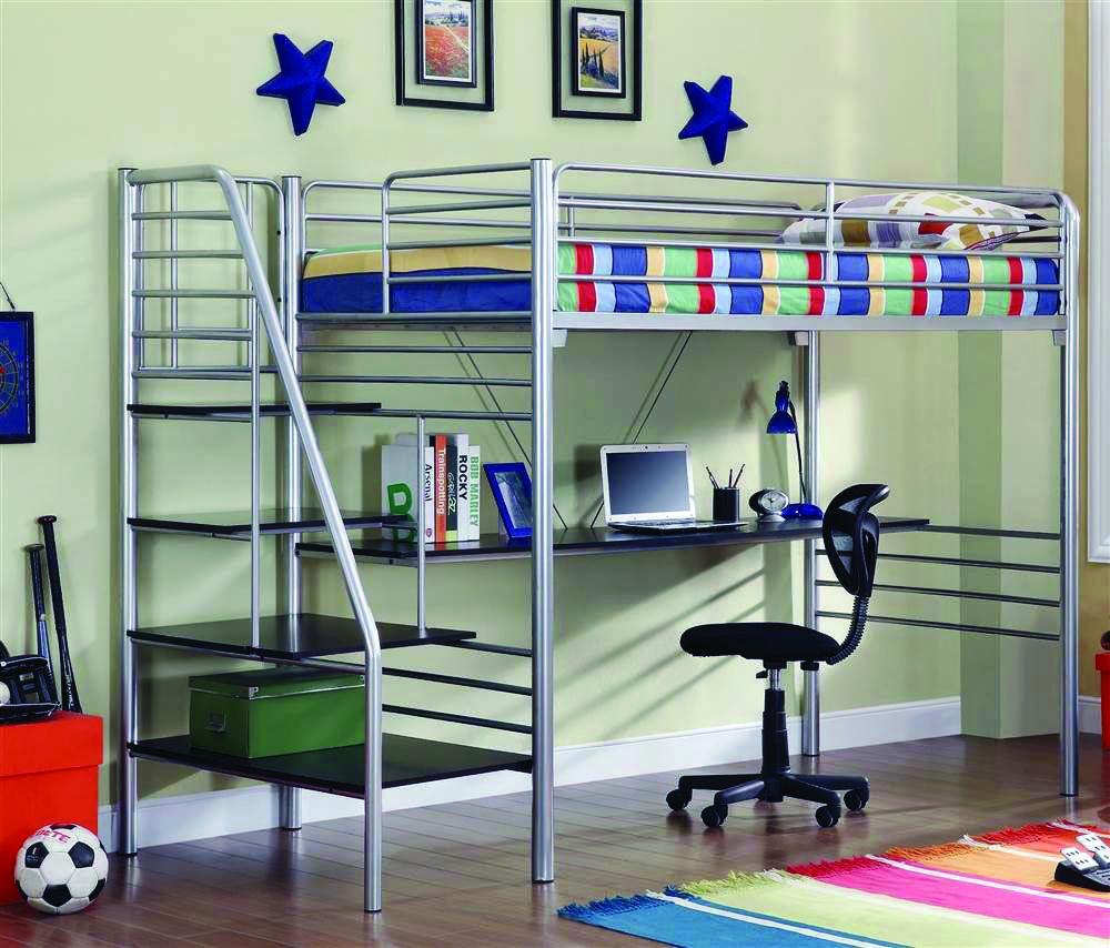 8 Loft Bedroom Ideas For Your Tiny Bed Room Homes Tre Bunk Bed With Desk Bunk Bed Designs Loft Bed Frame