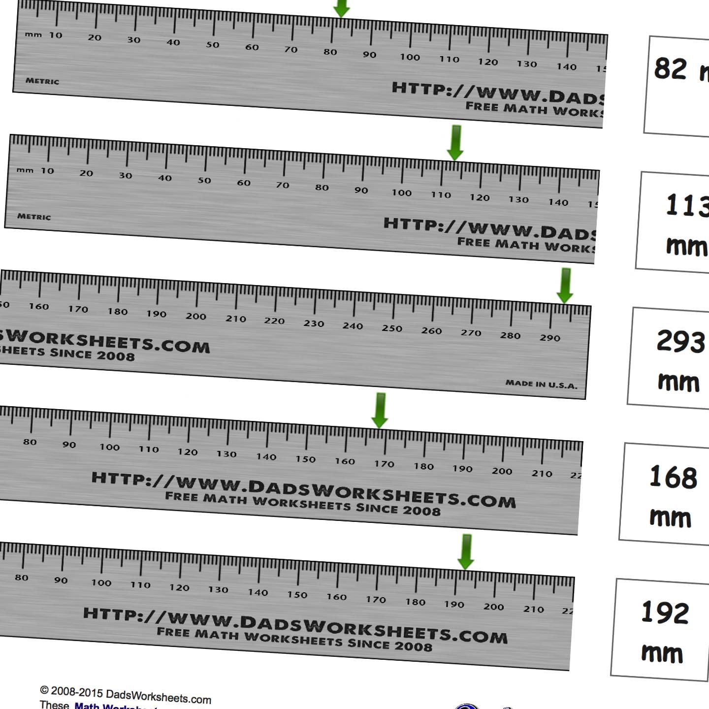 Printable Metric Ruler Mm