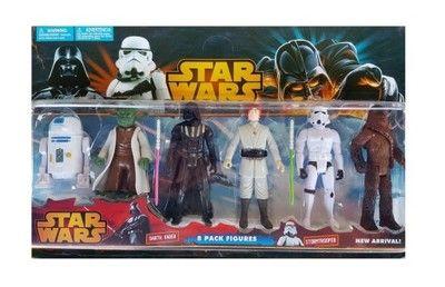 Figurki Star Wars 6 Szt Gwiezdne Wojny Yoda Swieca 6504070373 Oficjalne Archiwum Allegro Star Wars War Baseball Cards