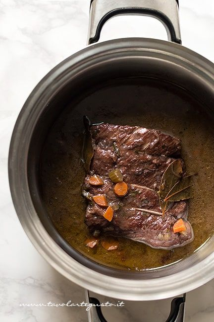 Photo of Braised in Barolo: the original recipe how to make braised …