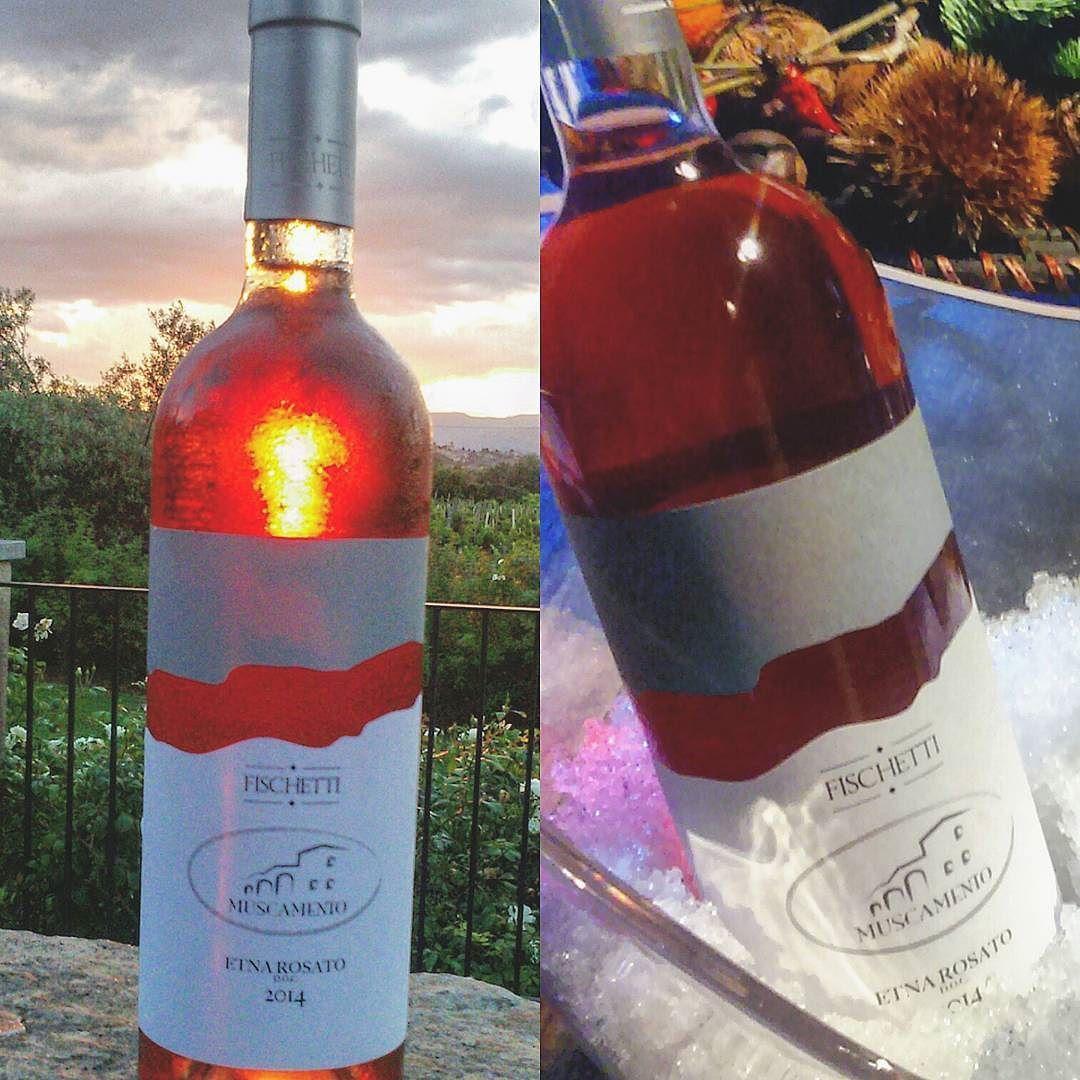 Rosato Etnadoc Sicily Inside Muscamento Vinibuoni Vini Danonperdere Nerellomascalese Nerellocappuccio Fewbottles Wine Bottle Rose Wine Bottle Instagram