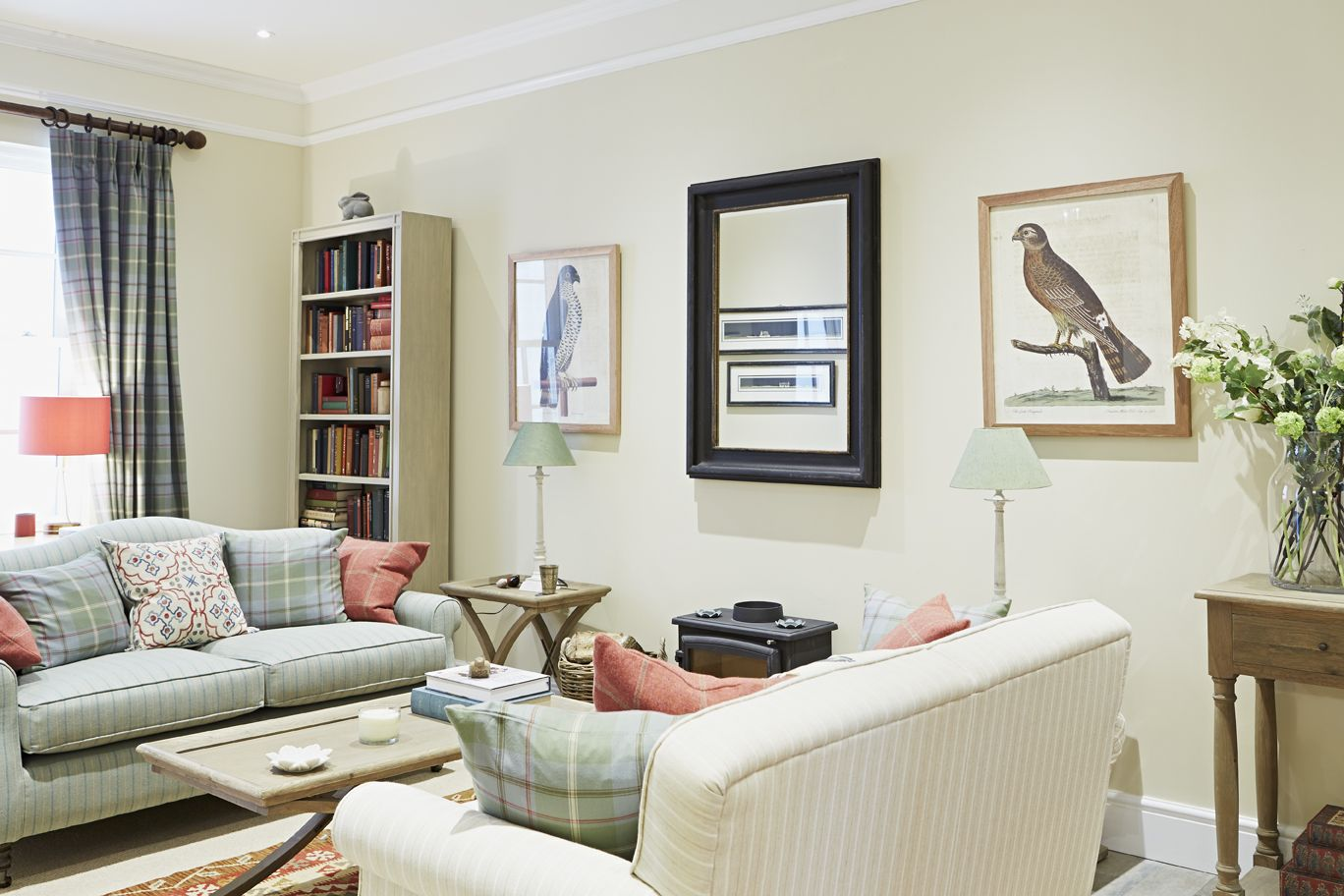 Living Room in the Prince\'s Foundation Show Home featuring our ...