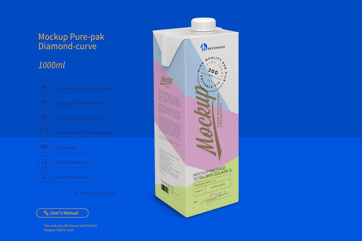 Download Milk Or Juice Package Free Mockup Dealjumbo Com Discounted Design Bundles With Extended License Packaging Mockup Free Packaging Mockup Free Mockup