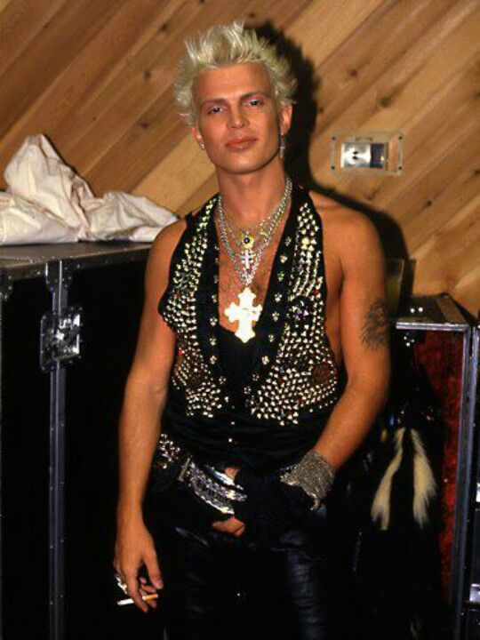 Billy idol - imaginary boyfriend in the early 80s... he's still pretty hot.