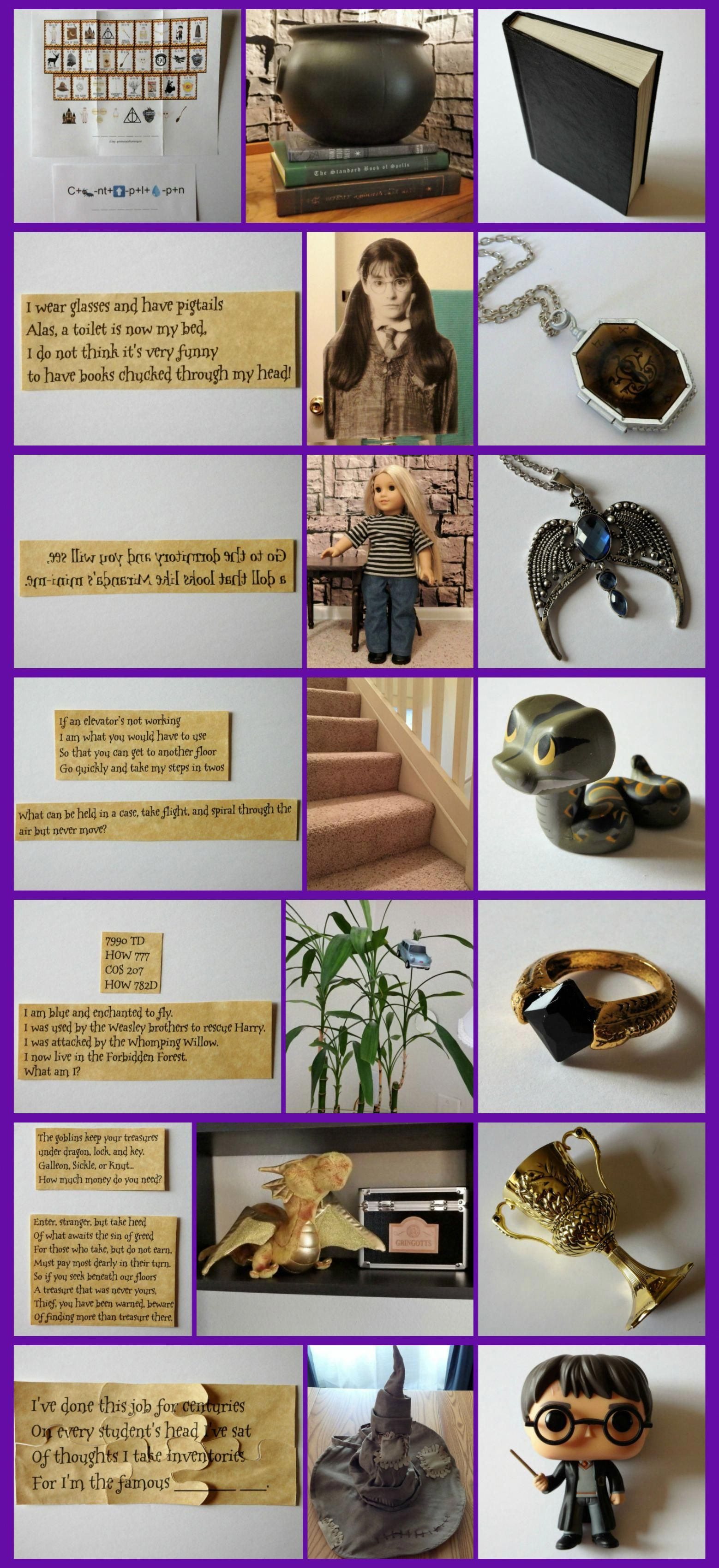 Harry Potter Inspired Activity Horcrux Hunt With Free Download Instructions And Clues Harry Potter Birthday Party Harry Potter Theme Party Harry Potter Bday