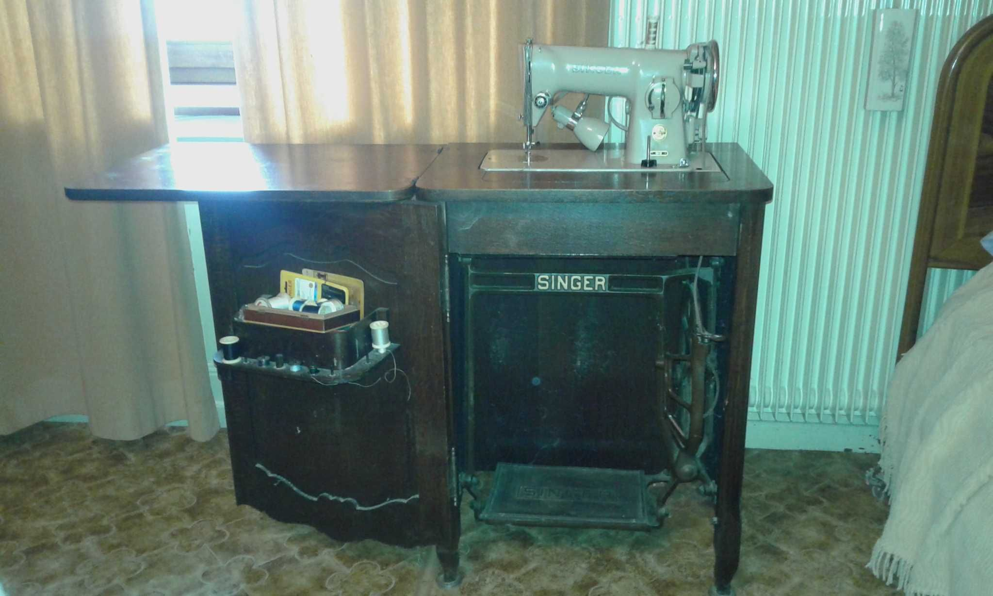 Vends Ancienne Machine A Coudre Singer Des Annees 1950