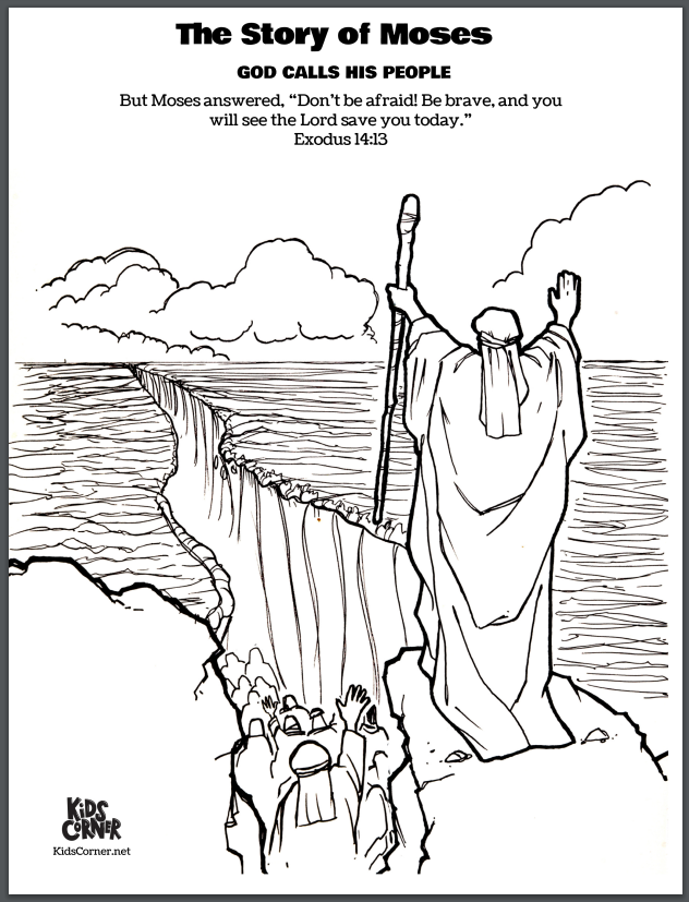 Coloring Book Pages Bible Stories