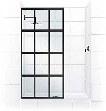 "Coastal Shower Doors GS1P40.80OC Gridscape 40"" x 80"