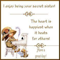 secret sister card messages - Google Search | Secret sister ...